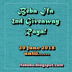 Beba Ifa 2nd Giveaway Raya!