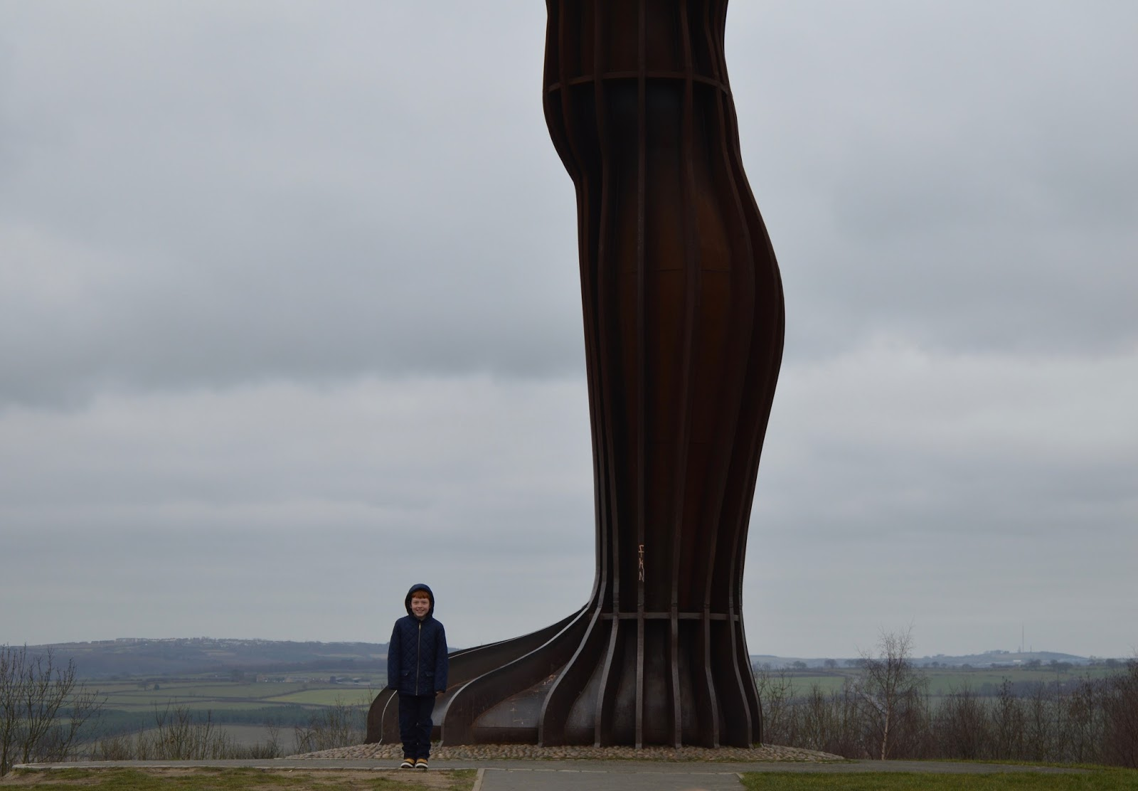 Angel of the North Foot