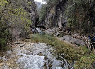 Sierra de Cazorla, Ruta del Río Borosa.