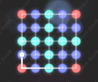 Solution, Cheats, Walkthrough for Neon Hack [Current Flow] Level 63