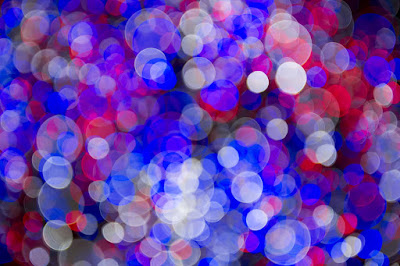Red, white and blue string lights are the perfect decoration for your Independence Day bash!
