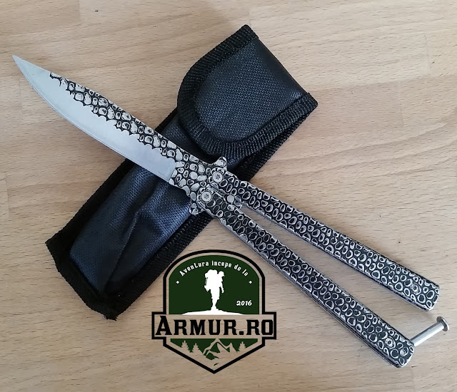 Balisong Butterfly Cutit Fluturas briceag