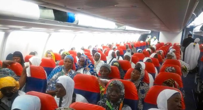 Over 400 Hajj Pilgrims airlifted