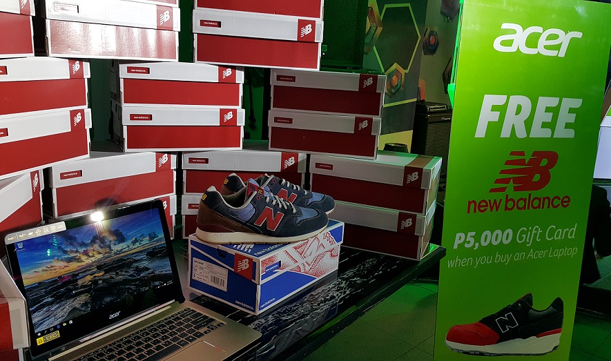Get Your Man New Balance This Christmas For FREE with Acer's ...