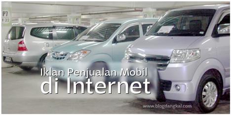 Iklan Penjualan Mobil di Internet