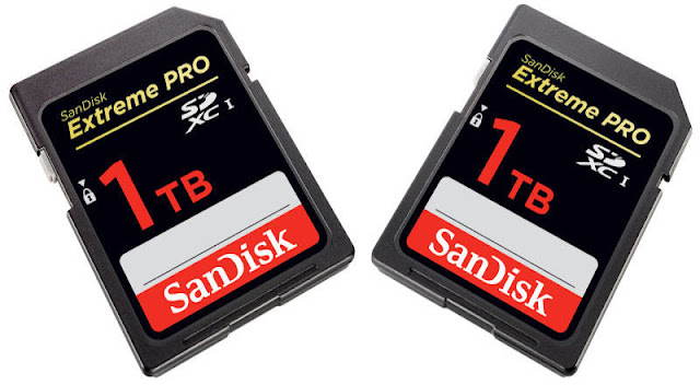 SanDisk Unveiled World's Largest 1TB SD Card