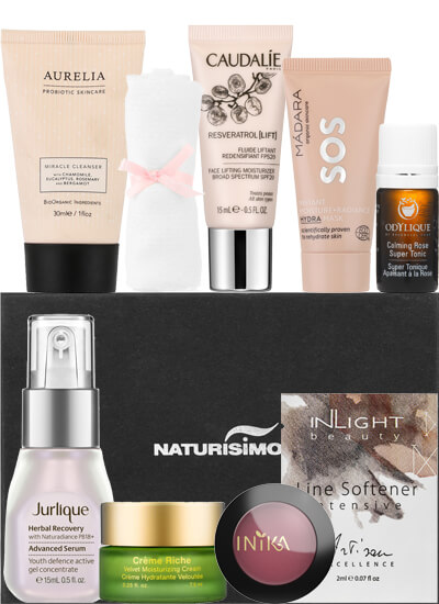 naturisimo intelligent skincare box