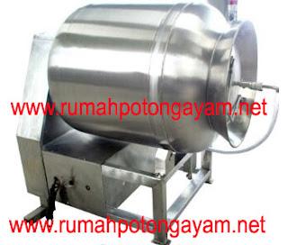 mesin tumbler dengan vakum