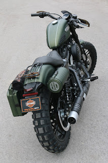 xl 1200 cx roadster tracker by hd jesi back