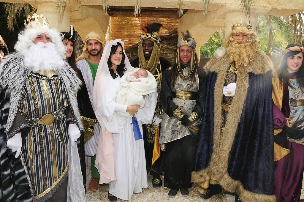 Info rea de vinalopo elche 34e bel n viviente levende kerststal in het park van 25 - Fotos van levende ...