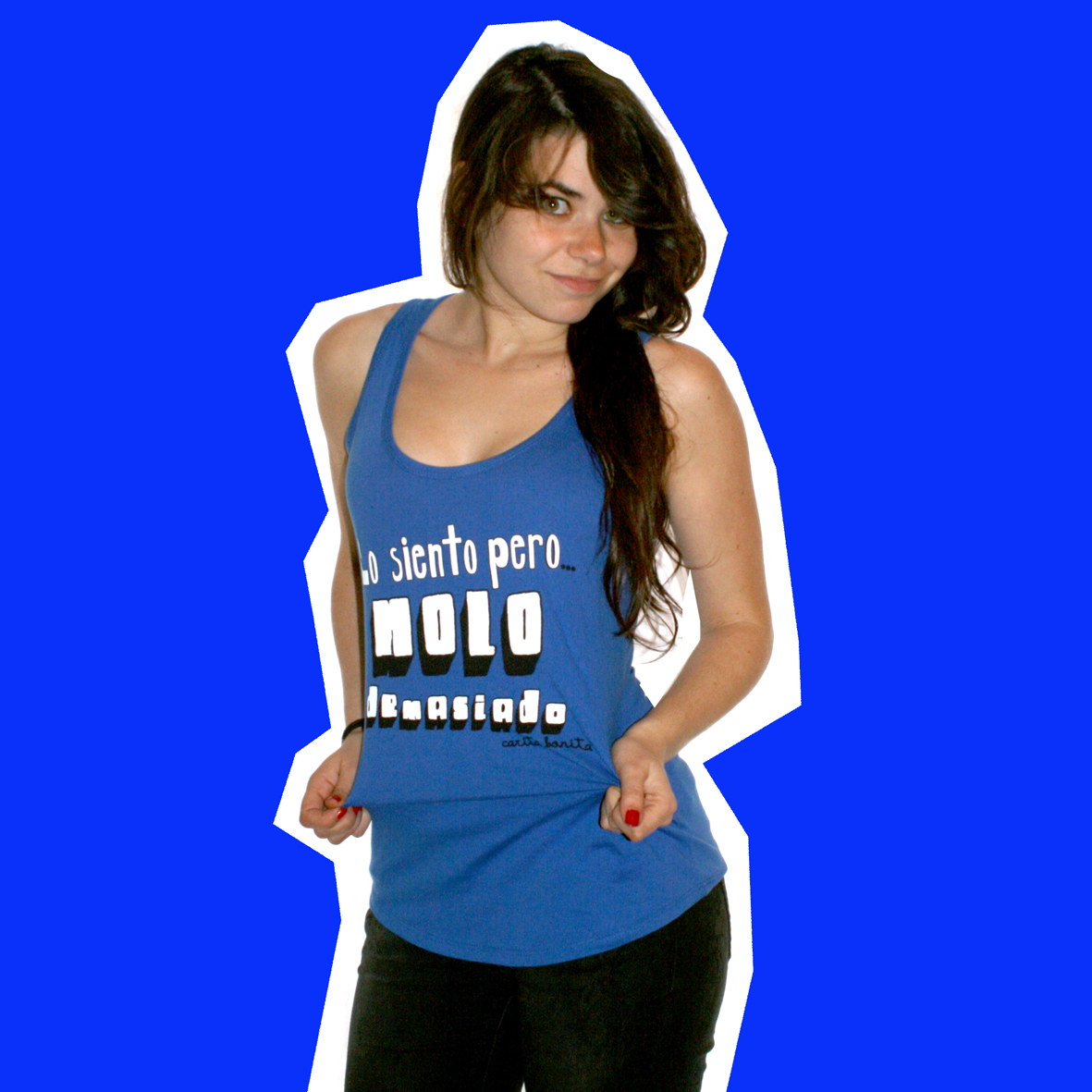 el blog de carita bonita  Camisetas de tirantes-mujer a3b16289fe2