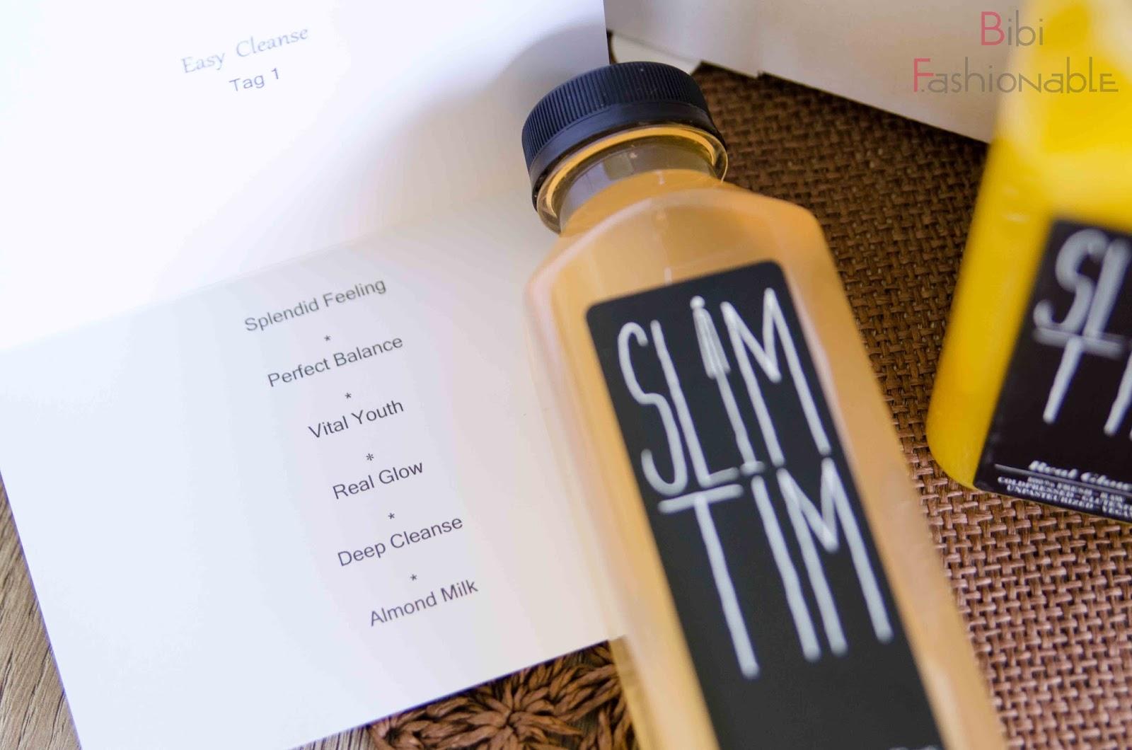 Slim Tim 3 Tage Detox Kur Menüplan