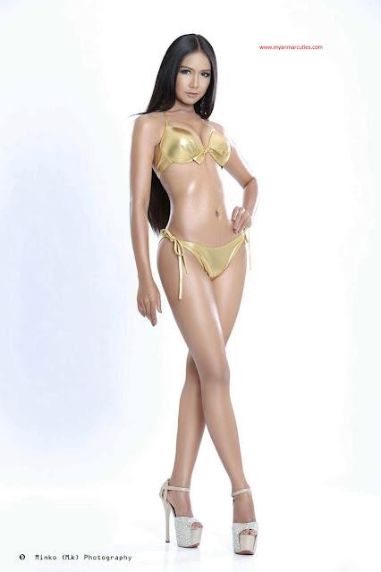 Miss Face Of Beauty Myanmar 2015 Chuu Sitt Han