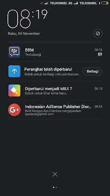 Update MIUI 7 Untuk Xiaomi Mi 4i
