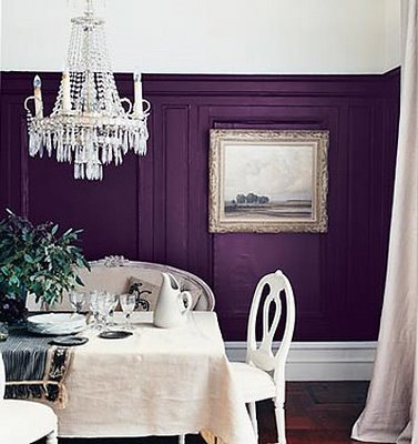 Let S Paint Those Cabinets Purple Wouldn T Be A Phrase From My Lips But They Work Well In That Kitchen How Are Feeling About This Shade