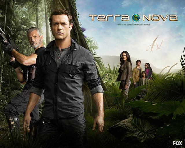 Terra Nova Temporada 1 discos 1, 2, 3 & 4 de 4