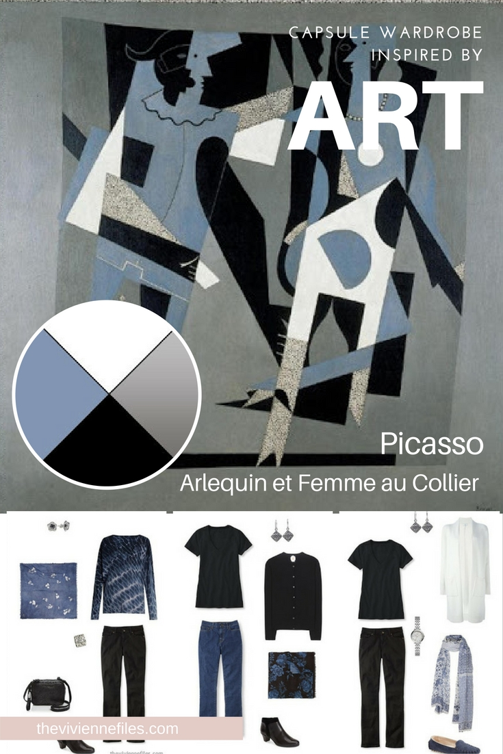 Build a Capsule Wardrobe by Starting with Art: Arlequin by Pablo ...