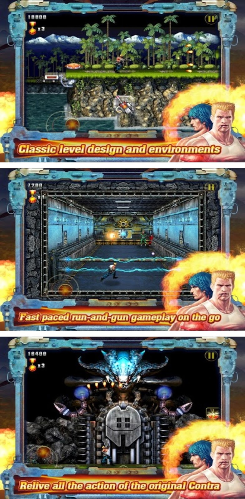 Contra games for android apk