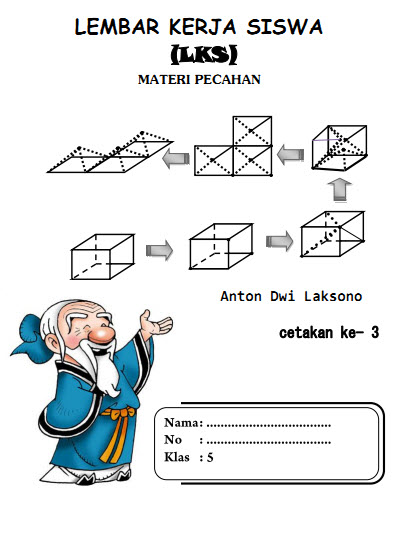 Kementerian pendidikan dan kebudayaan, 2014. Modul atau LKS Matematika SD Kelas 5 Semester 2 Materi