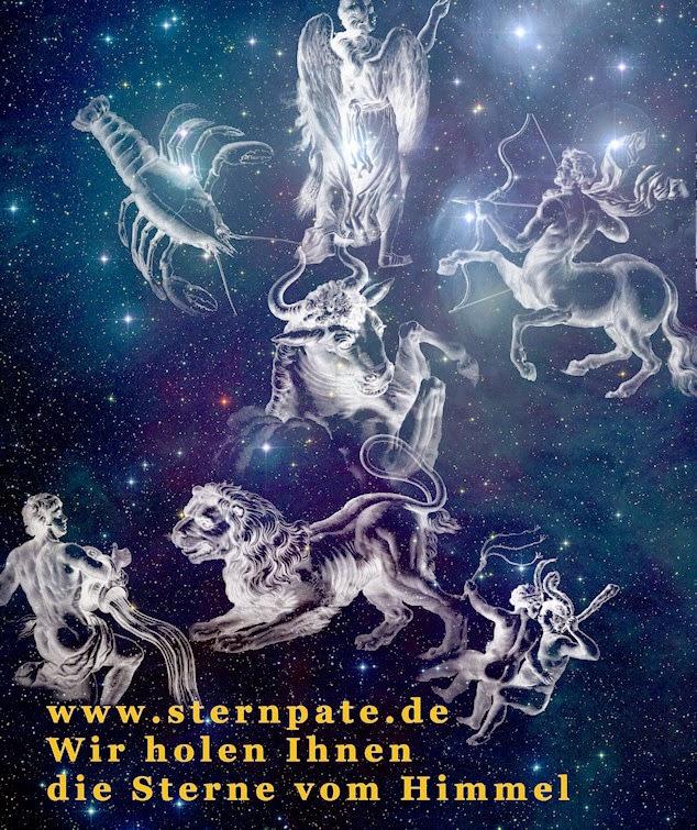 einzelne bilder sternenhimmel sternzeichen