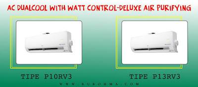 AC LG DUALCOOL with Watt Control