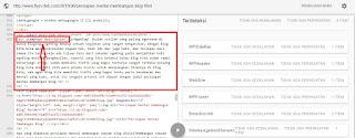 menguji data struktur konten
