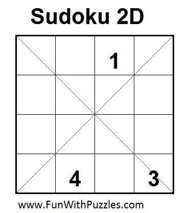 Sudoku 2D (Mini Sudoku Series #7)