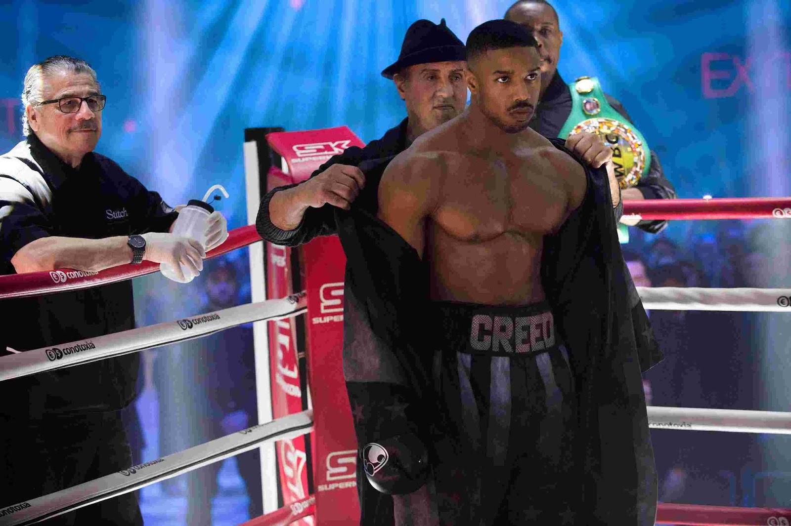 Crítica De Cine Creed Ii Defendiendo Con Méritos El Legado De Rocky Balboa Revista Level Up Revista Level Up