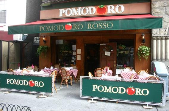 Pomodoro Restaurant Nyc Seinfeld