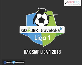 Hak Siar Liga 1 Musim 2018