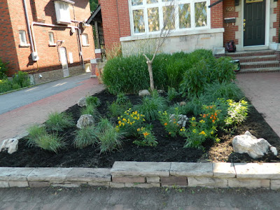 Midtown Toronto Front Garden Cleanup After by Paul Jung Gardening Services Inc.--a Toronto Gardening Company