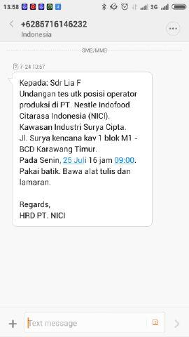 Pt Nestle Indofood Cita Rasa Indonesia Suryacipta Random Email Loker