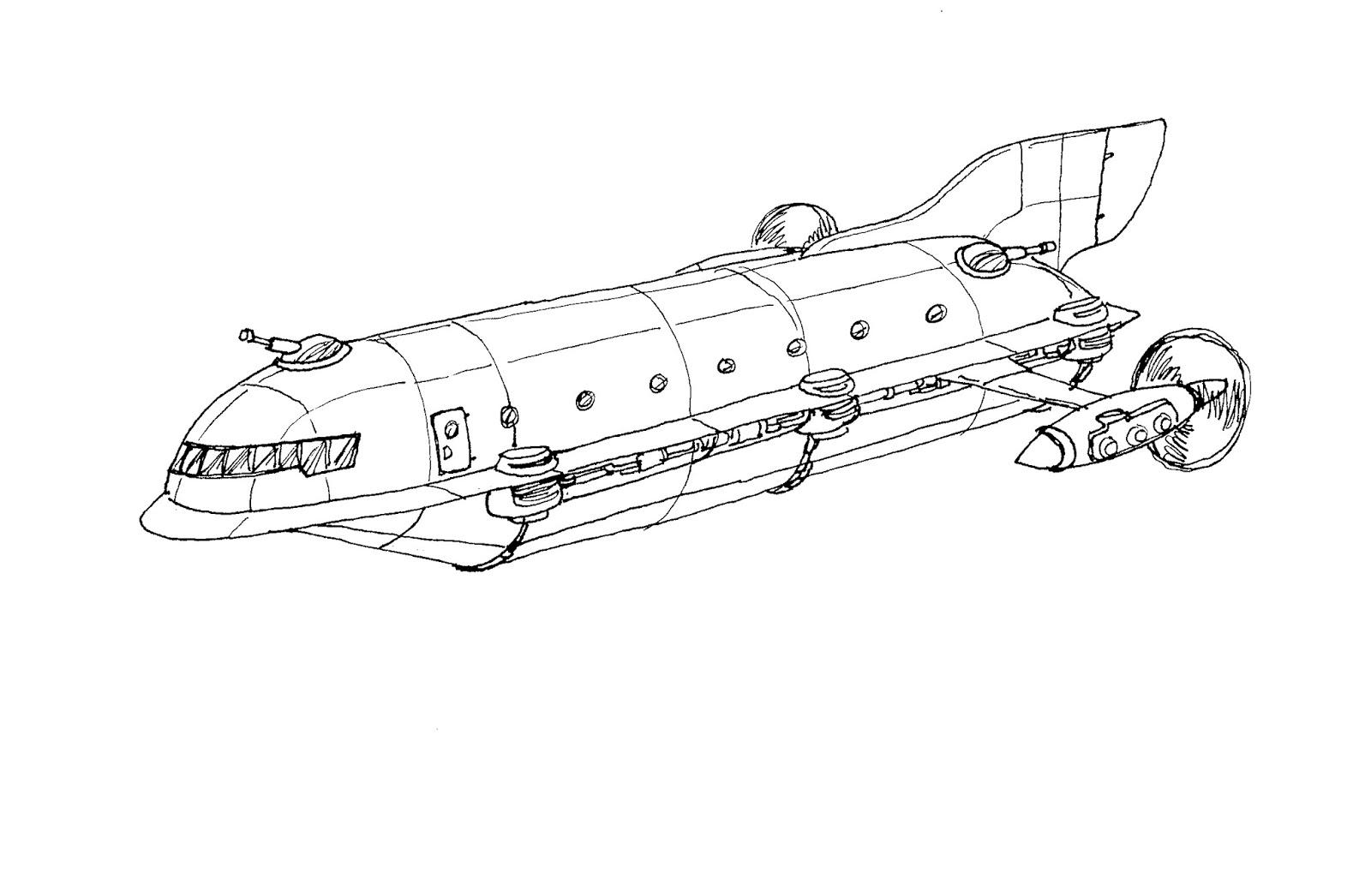 Swords Of Cydoria More New Aero Ship Zephyr Designs