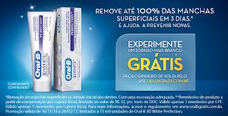 Promoção Experimente Grátis o Novo Oral-B 3D