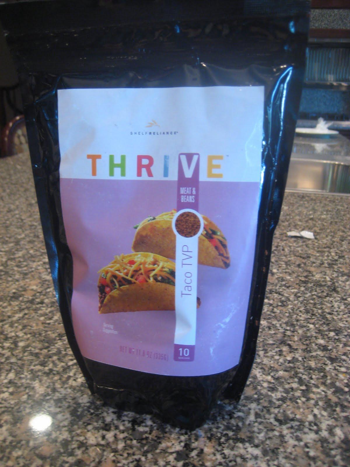 Thrive Freeze Dried Food Recipes