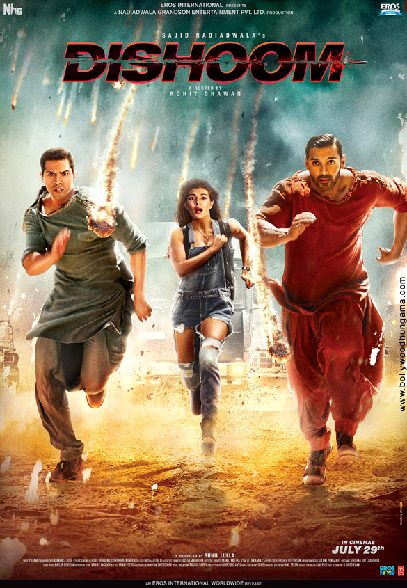 Free Download or Watch Online Resumable Links Dishoom 2016 Hindi