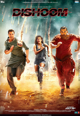 Dishoom 2016 Hindi 480p WEBRip 350mb ESubs