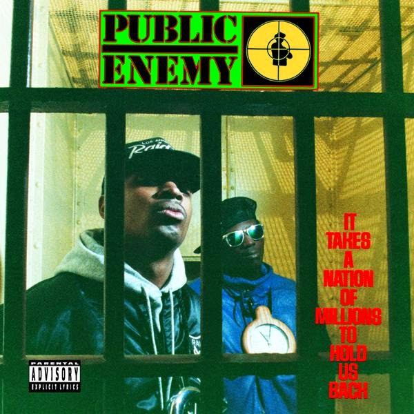 Public Enemy - It Takes a Nation of Millions to Hold Us Back Cover