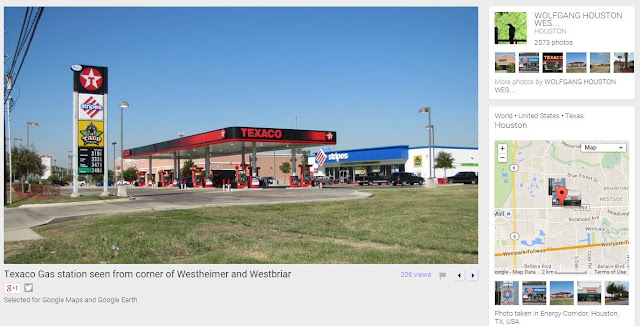 12968 Westheimer Rd Houston, TX 77077 (2011 photo of gas station)
