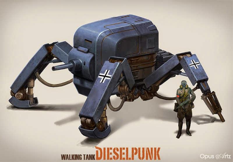 Tanque Steampunk