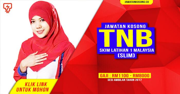 Skim Latihan 1 Malaysia Tnb Sl1m Tnb Mobile