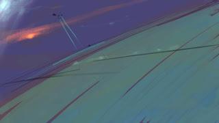 Schets van Ariane Berends-Brouwer, environment painten, landschap painten, speedpaint, Ipad-Pro, leren speedpainten, schetsen landschap, schetsen environment, tekenles Amsterdam, tekenles Utrecht, digitaal tekenen, digitaal schilderen