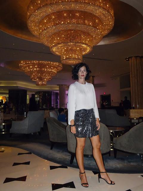 En el Hall del Hotel Fontainebleau