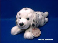 dalmatian plush stuffed animal small