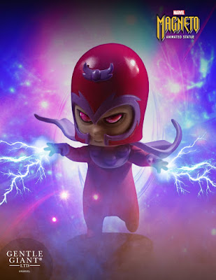 Magneto Animated Marvel Mini Statue by Skottie Young & Gentle Giant