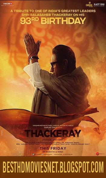 Thackeray 2019 Hindi HQ Free Watch or Download
