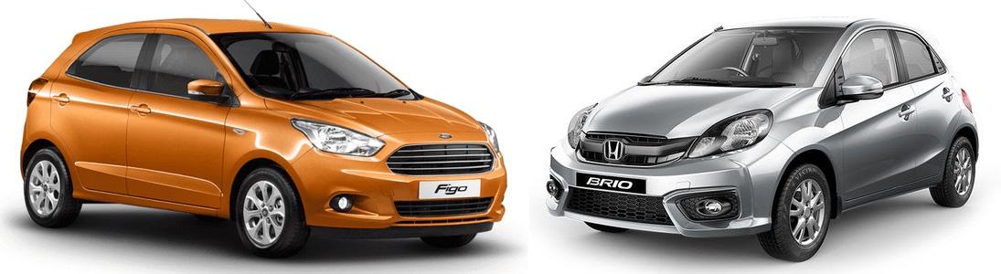 Nissan Micra CVT vs Honda Brio AT Comparison Review