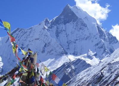 Annapurna Base Camp Trek -- Mt. Annapurna