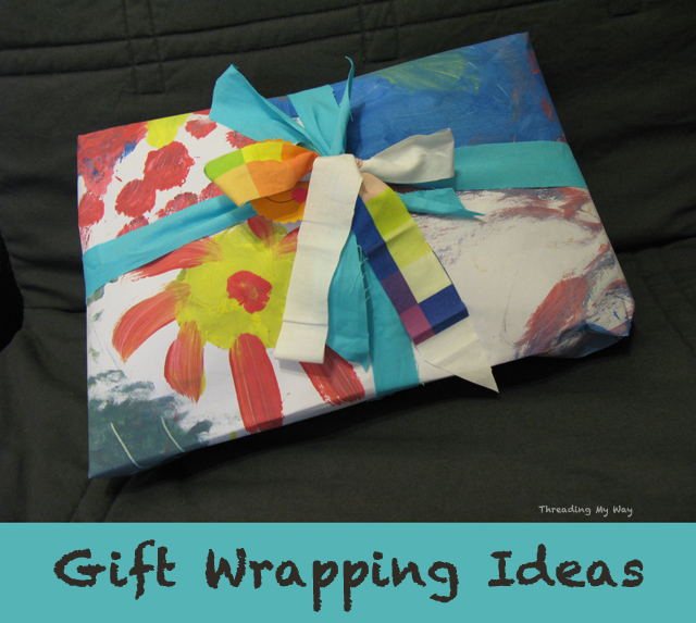 Creative Gift Wrapping Ideas ~ Threading My Way
