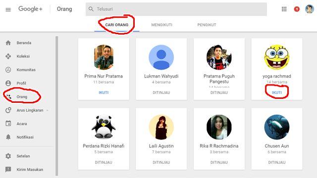 Menambah Pengikut di Google+